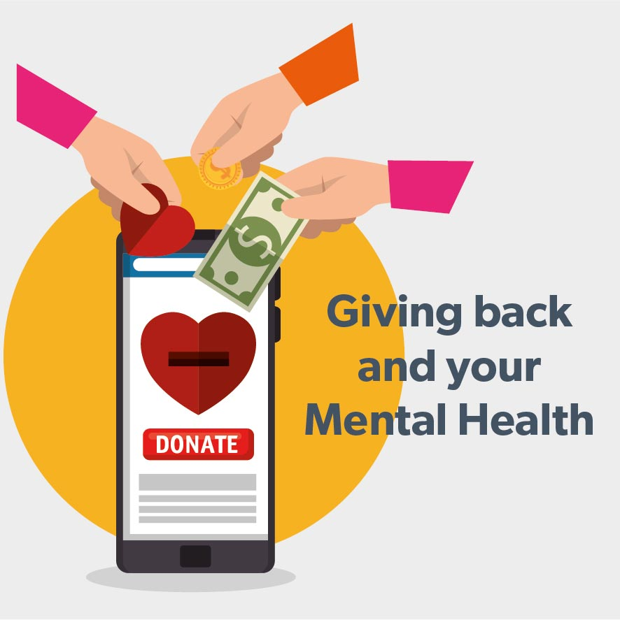 Benefits of Giving Back for your Mental Health