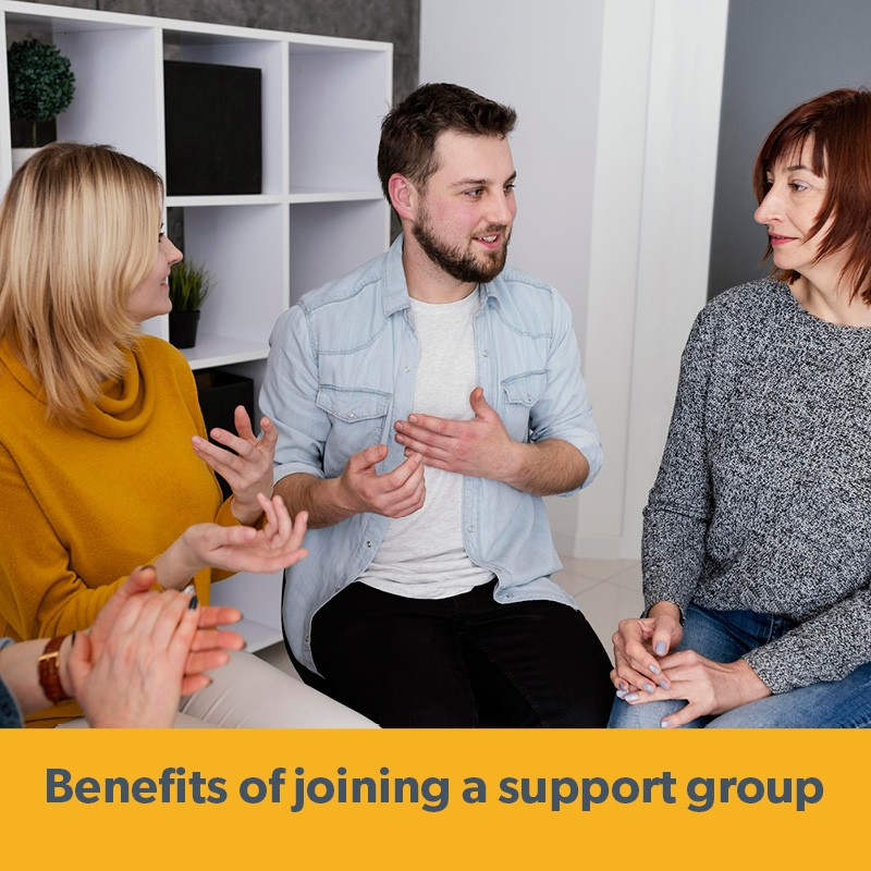 The benefits of joining a supportgroupfor your mental health